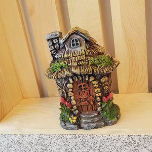 "Fairy Garden House miniature figurine 4"""